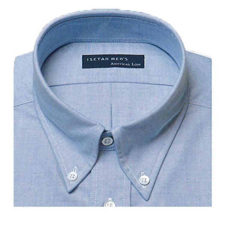 <b>オススメの襟型</b><br>米国のシャツといえばB.D.が定番。襟先の短いタイプも人気。