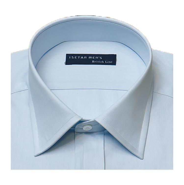 <b>オススメの襟型</b><br>英国の正統派クラシックスタイルにはレギュラーカラーを。