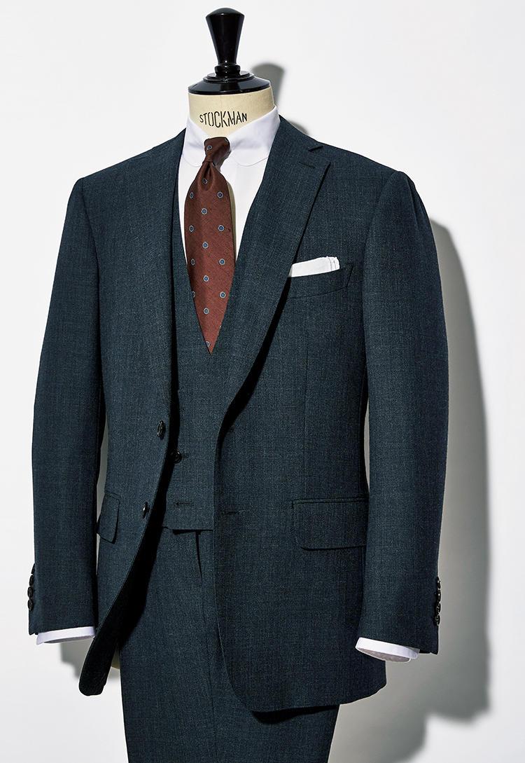ウィリアム ハルステッドのスーツ