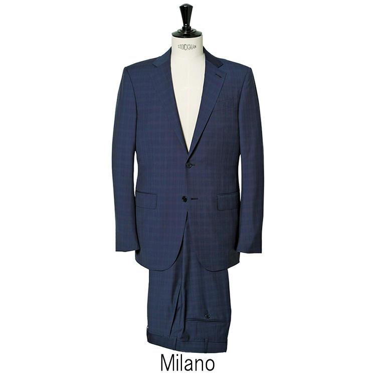 「ミラノ」はゼニアのスタンダードといえるモデルで、適度な構築感と中庸なシルエットが都会的な佇まい。