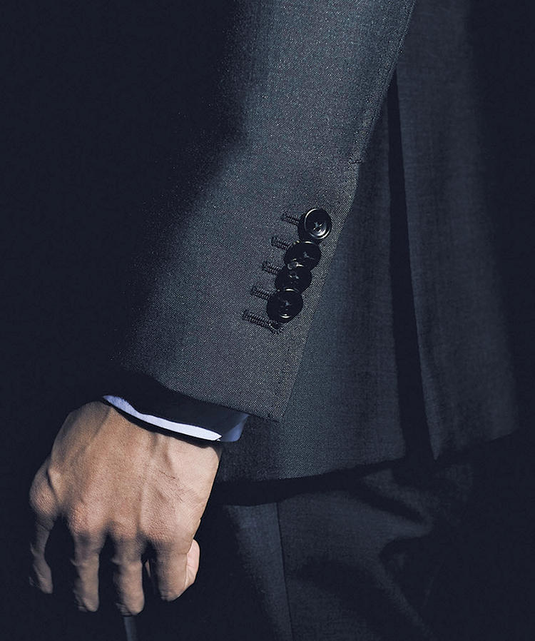 online store c575f e1237 仕立て権をプレゼント!】節度ある個性派スーツを グッチで作る