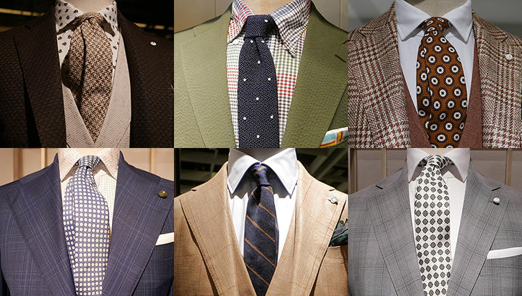 スーツ&ジャケットのタイドアップ