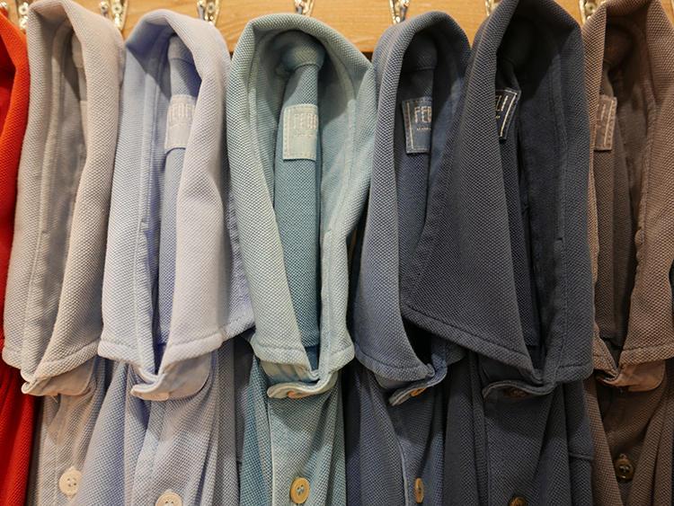 【FEDELI】フェデーリはブルーやグレーやベージュトーンも上品な優しい色バリが多数。