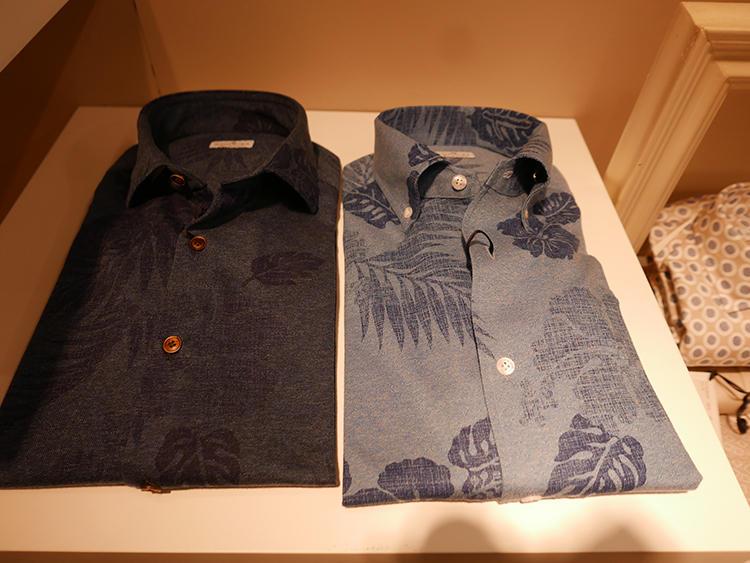 【SONRISA】ジャージーシャツにプリントを施すという新発想。
