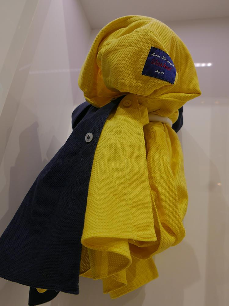 【MARIA SANTANGELO】ウォッシュドのガルザ的カラフルシャツ。