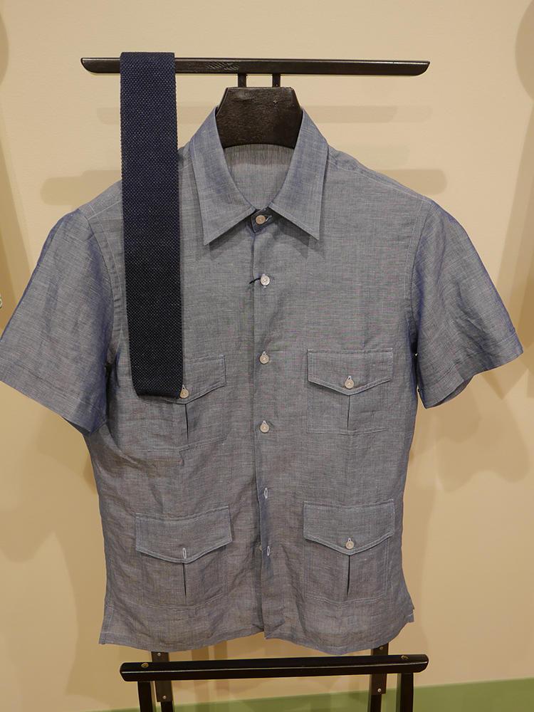 【ERRICO FORMICOLA】半袖の4ポケット。是非1枚で着たい。
