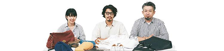 MEN'S EX副編集長・内田さやか、スタイリスト・四方章敬さん、ライター・安岡将文さん