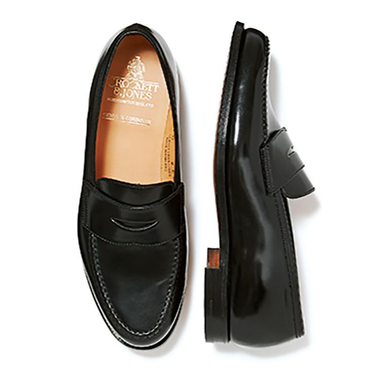 靴12万円/クロケット&ジョーンズ(トレーディングポスト青山本店)