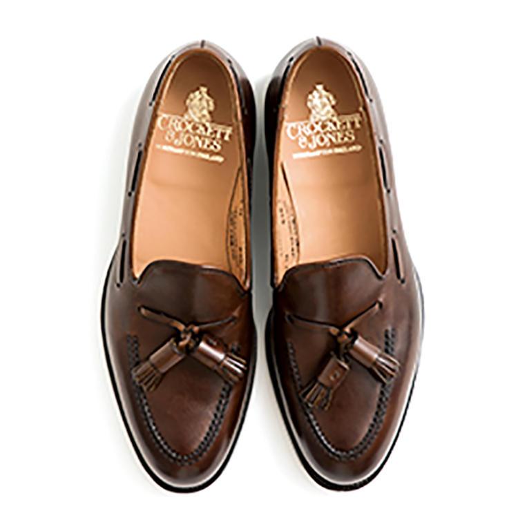 靴7万9000円/クロケット&ジョーンズ(トレーディングポスト青山本店)