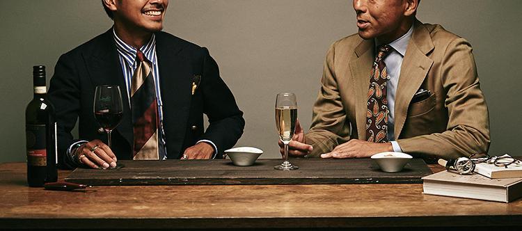 M.E.世代の服飾事情に(ついでに夜の街事情も)詳しい2名の業界人の対談