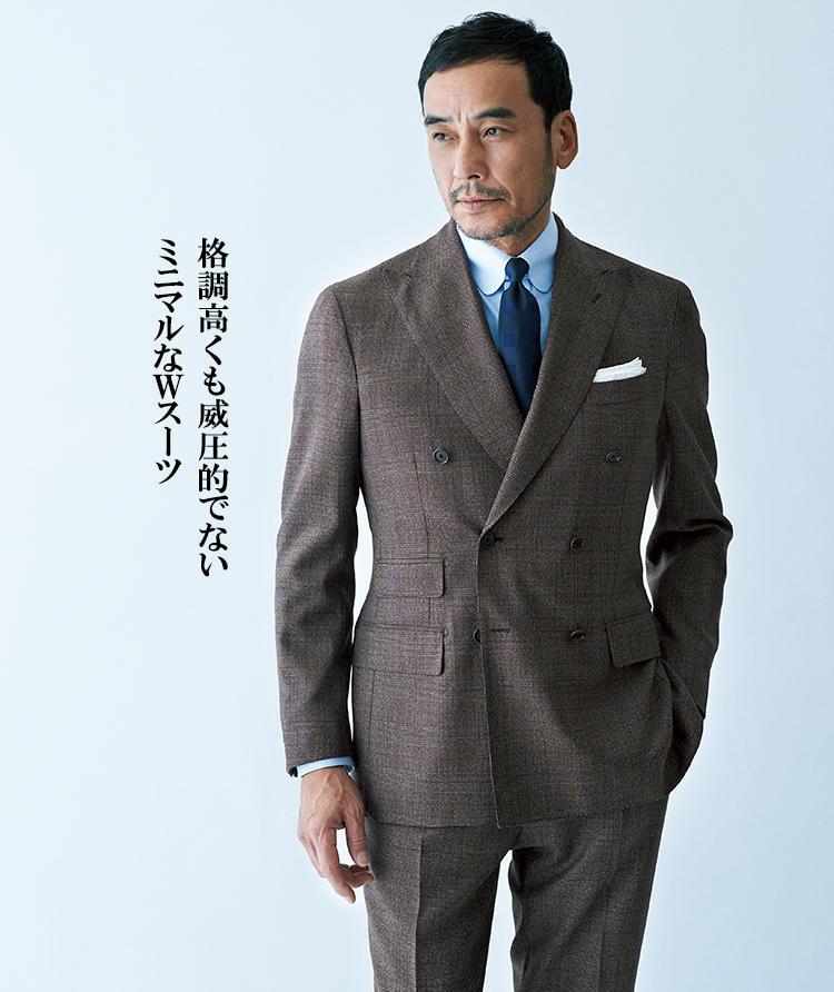 デ ペトリロのスーツスタイル