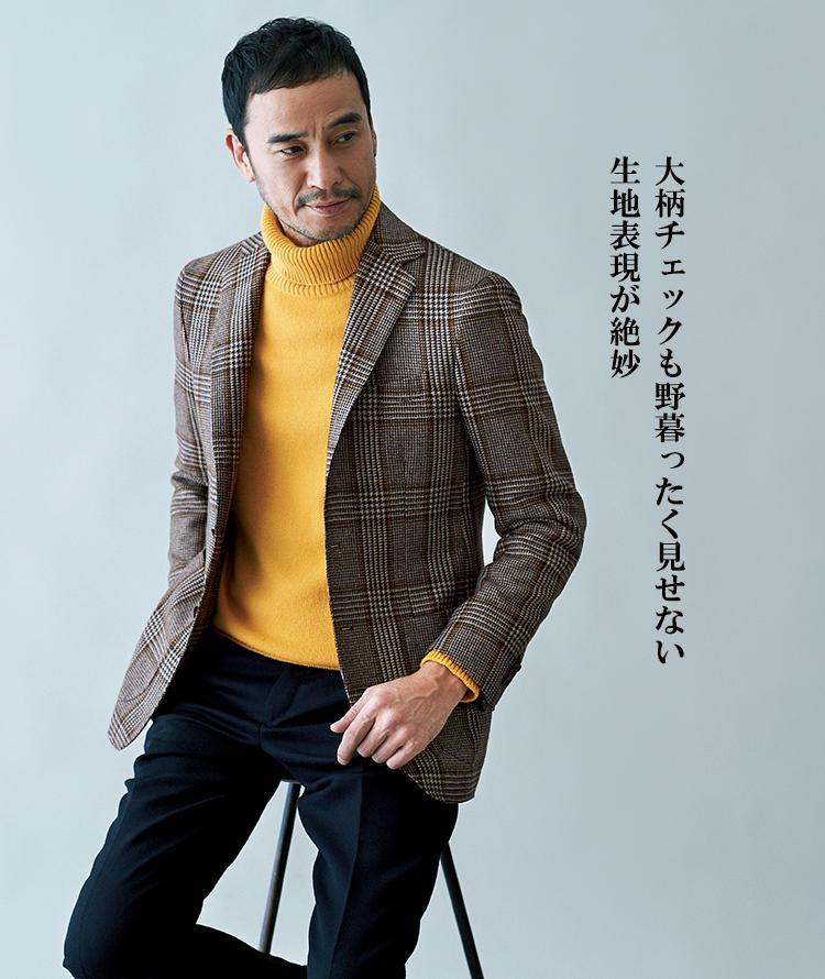 デ ペトリロのジャケットスタイル