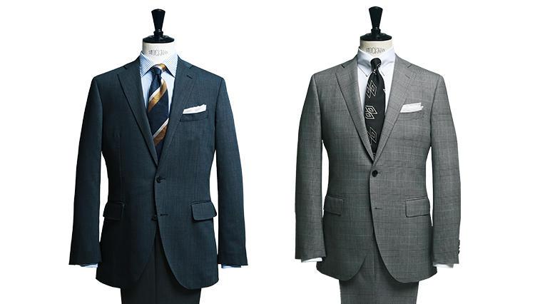 ユニ バーサルランゲージのスーツで享受できる機能系ウール100%の旨味とは
