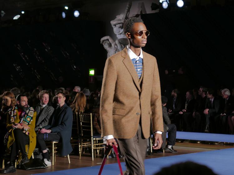 スペシャルファッションショーは、メンズ計45ルックを発表! ブルックス ブラザーズのアイコン的アイテムたちが、モダンに姿を変えた。
