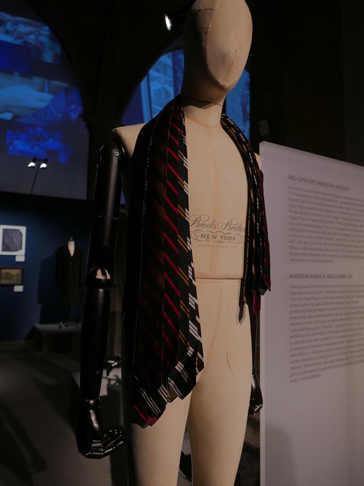 ブルックス ブラザーズのネクタイといえば、やはりストライプだ。ストライプの種類別に、No1、2、3……と名前がある。