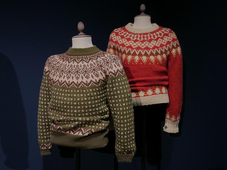 今、着てもお洒落!チルデン風セーター。