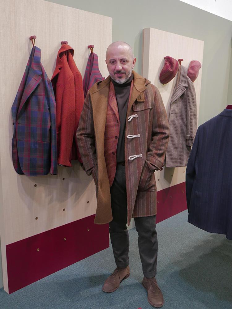 エルネストのコート