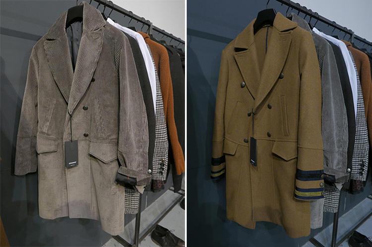 オフィチーナ トレンタセイのコート