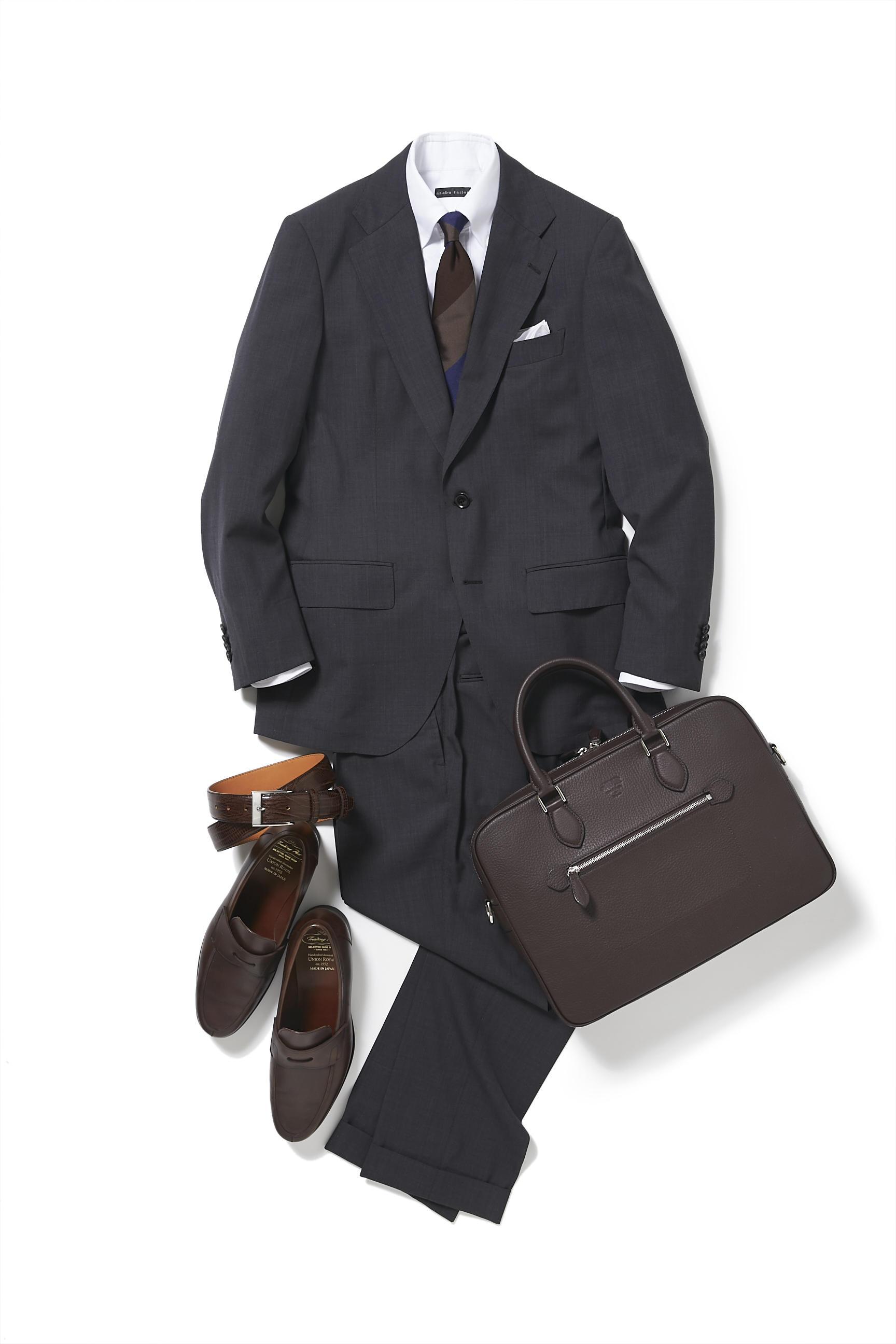 これで商談成立しまくり!【スーツの着回し1週間チャレンジ!/麻布テーラー編#4】