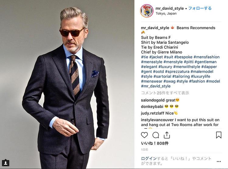 <strong>6.黄金配色は丸暗記</strong><br />グレースーツ、水色のシャツ、茶系のネクタイは、やりすぎに見えることなくスタイリッシュに見せられる黄金配色。素敵な配色は丸暗記しておけば、オフの着こなしにも応用できて便利だ。