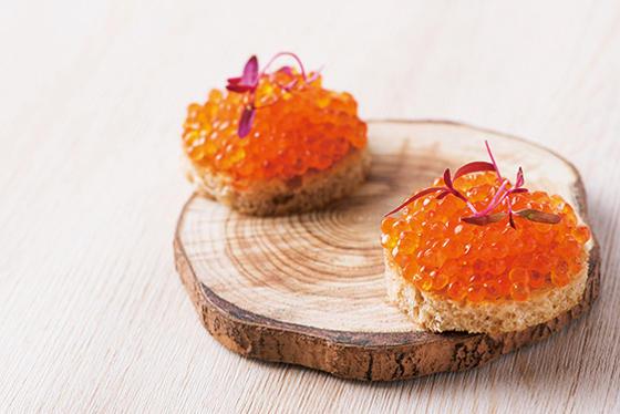新メニュー「Chef's Tasting Course」の一例。