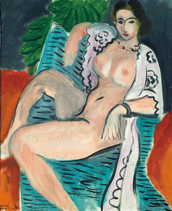 アンリ・マティス《布をまとう裸婦》<br />1936年 Tate: Purchased 1959, image ©Tate, London 2017