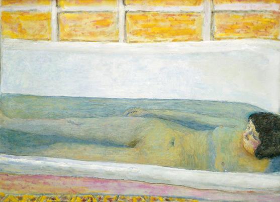 ピエール・ボナール《浴室》<br />1925年 Tate:Presented by Lord Ivor Spencer Churchill through the ContemporaryArt Society 1930, image ©Tate, London 2017
