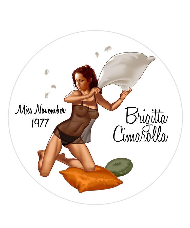 Brigitta Cimarolla/Miss November 1977