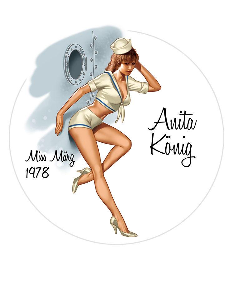 Anita Konig/Miss Marg 1978