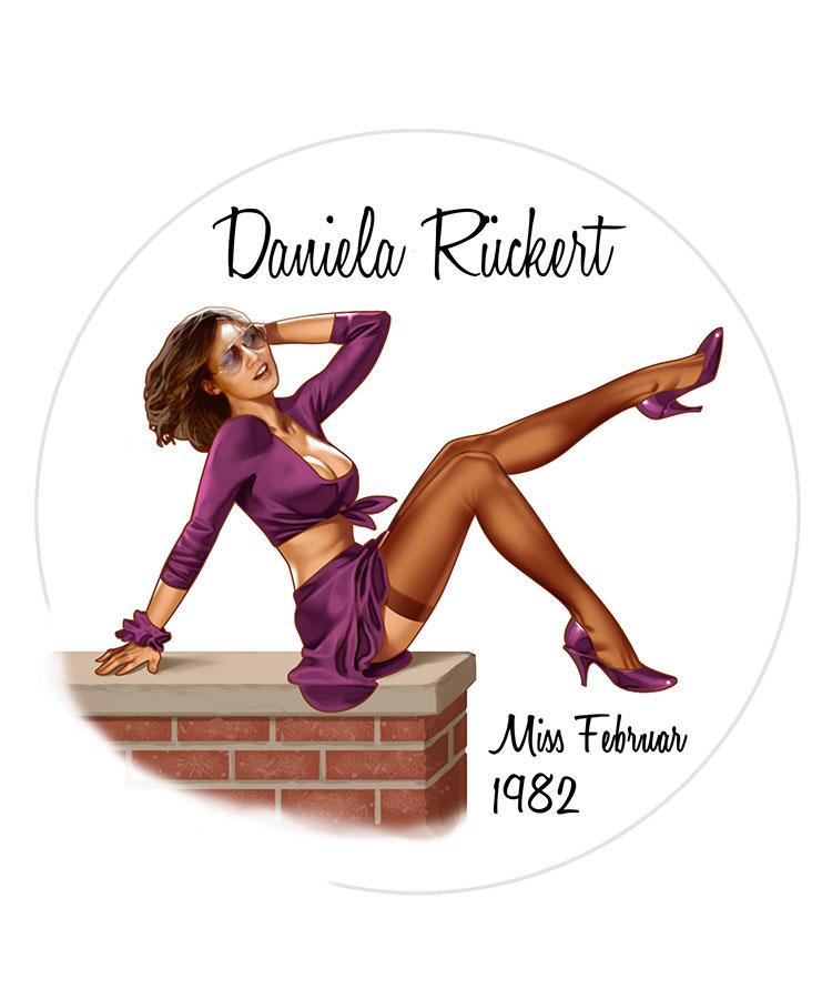 Daniela Ruckert/Miss Febrnur 1982