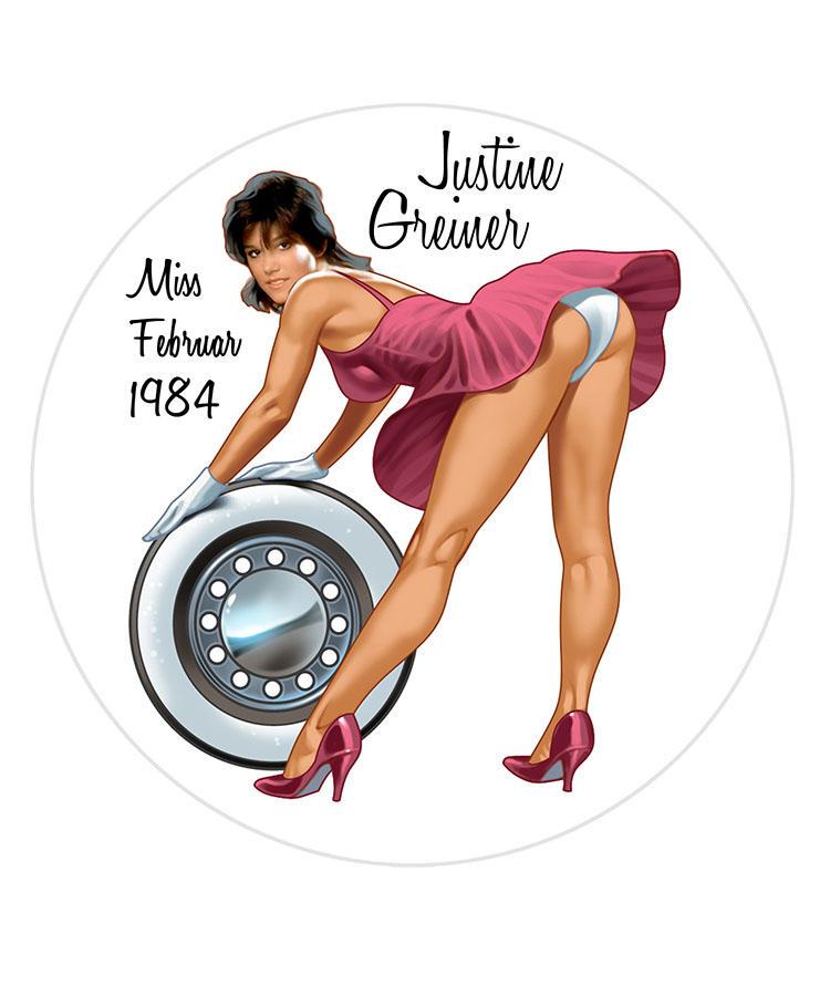 Justine Greiner/Miss Febrnur 1984