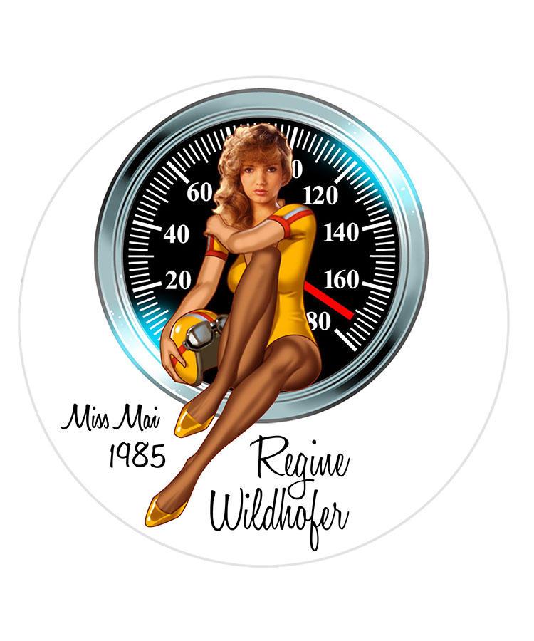 Regine Wildhofer/Miss Mai 1985