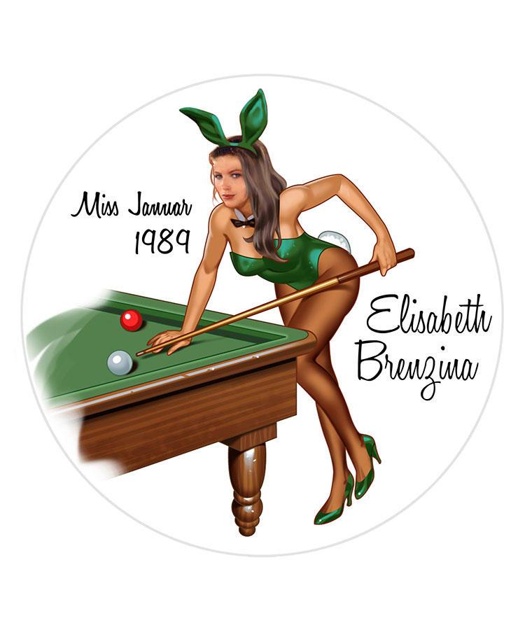 Elisabeth Brenzina/Miss Januuar 1989
