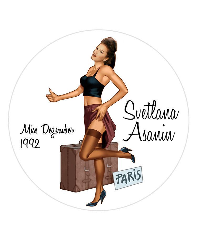 Svetlana Asanin/Miss Dezember 1992