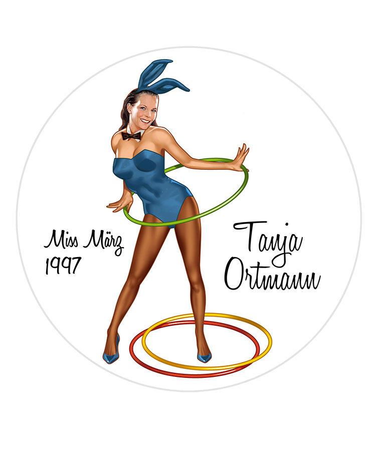 Tanja Ortmann/Miss Marz 1997