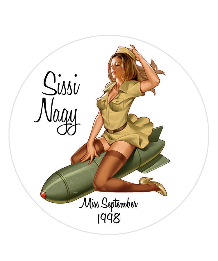 Sissi Nagy/Miss Septmeber 1998