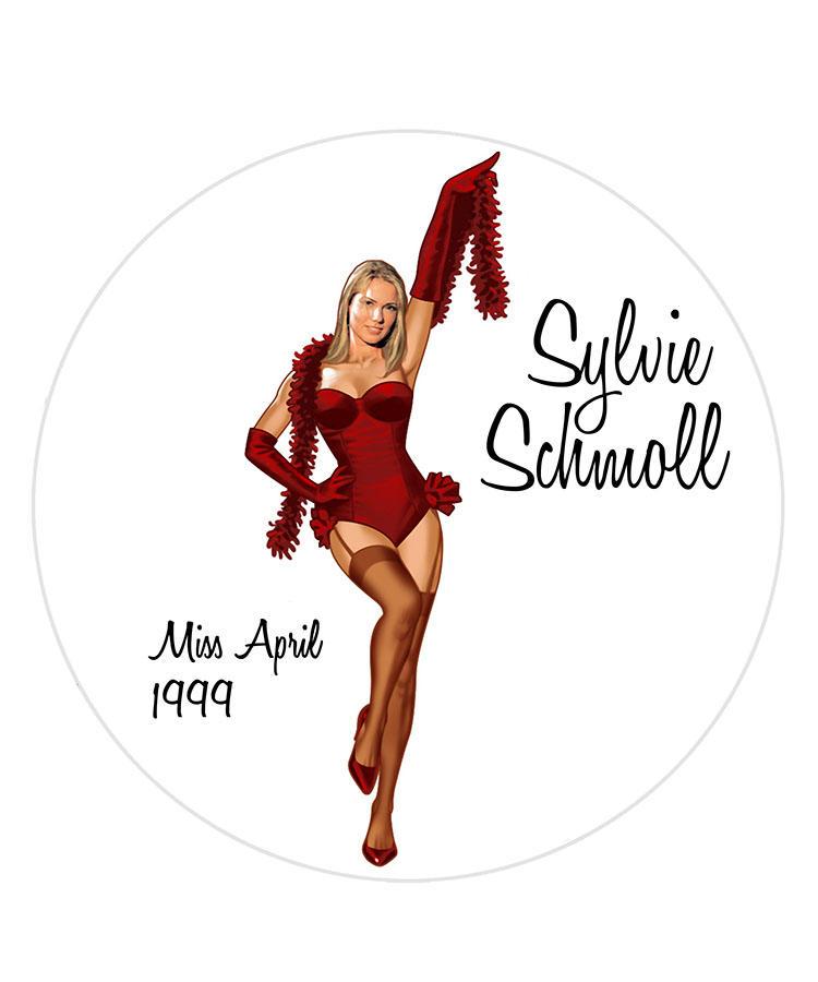 Sylvie Schmoll/Miss April 1999