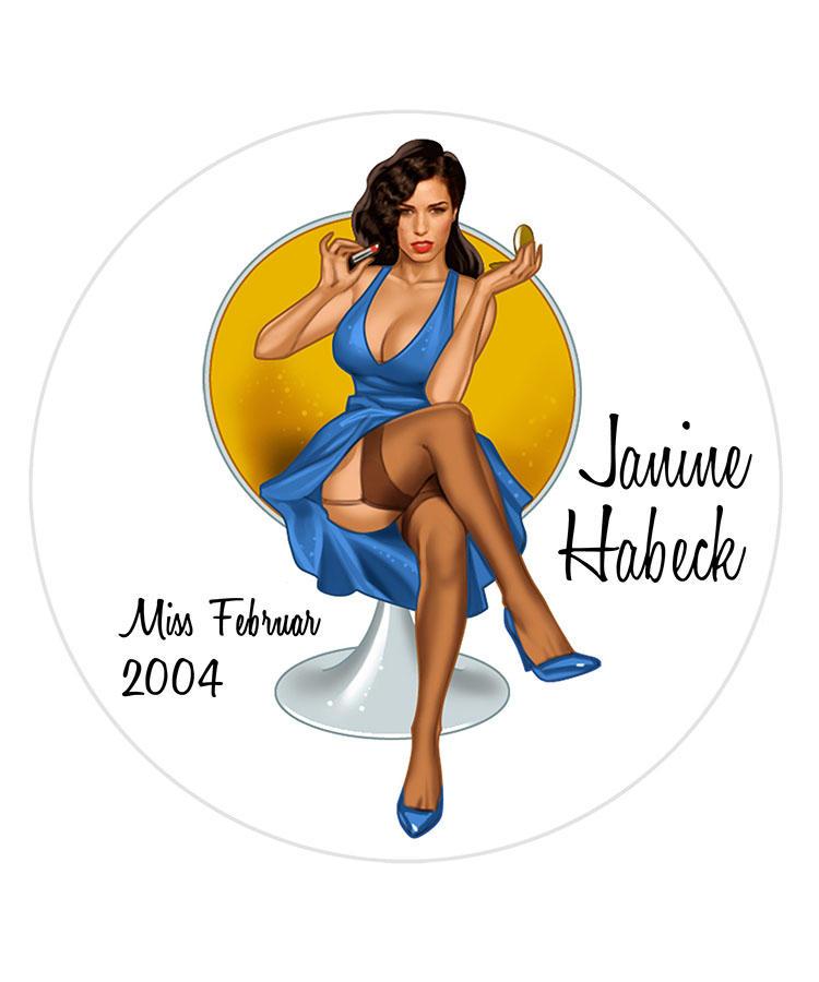 Janine Habeck/Miss Febrnur 2004