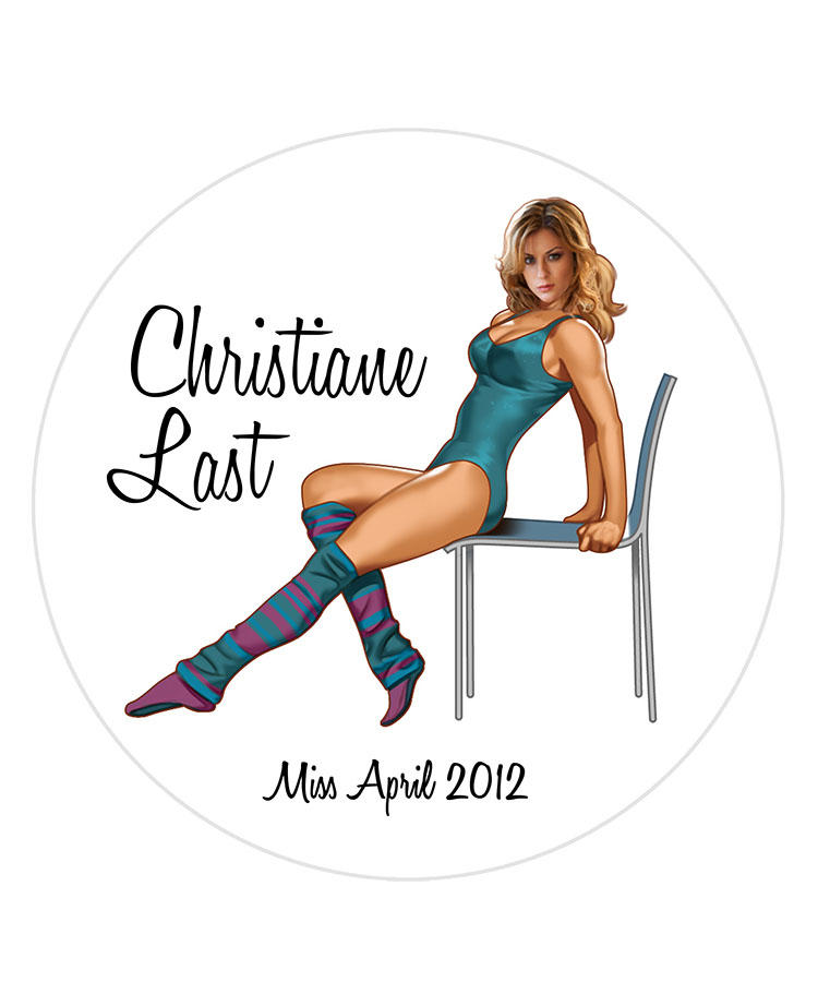 Christiane Last/Miss April 2012