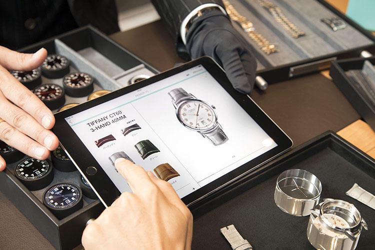 iPadを使用したシミュレーションと、実際のパーツを使った立体的な組み合わせとで、出来上がりが非常に想像しやすい。