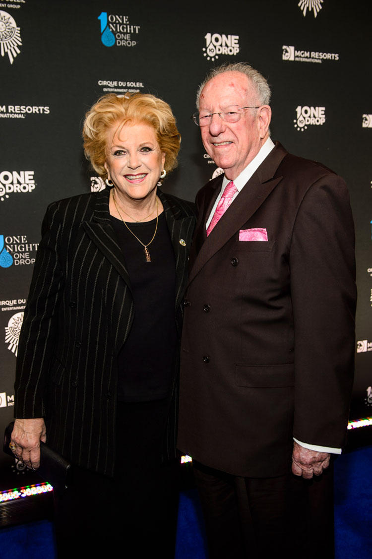 Mayor Carolyn Goodman and Oscar Goodman