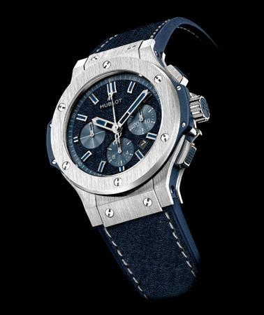 watch 56f0c dc959 日本の伝統的なデニムを採用 ウブロの日本限定モデルが発売