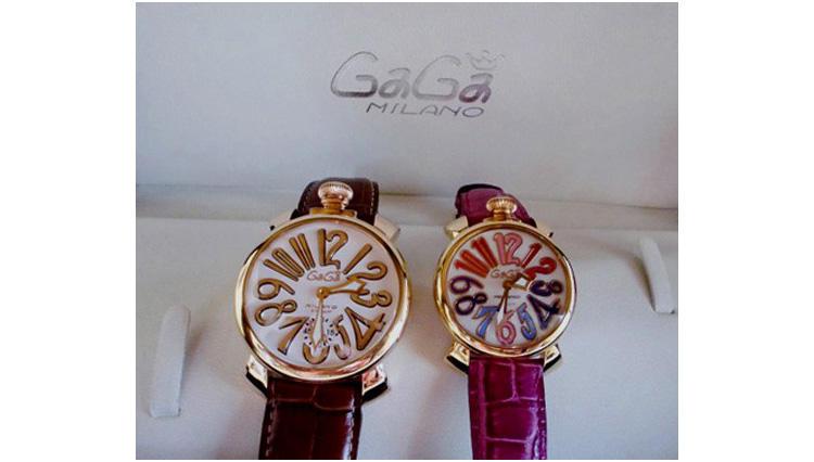銀婚式の記念品として購入した腕時計【ガガ ミラノ】