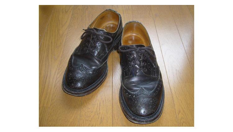 武骨ながら愛嬌がある可愛い靴です【トリッカーズ】