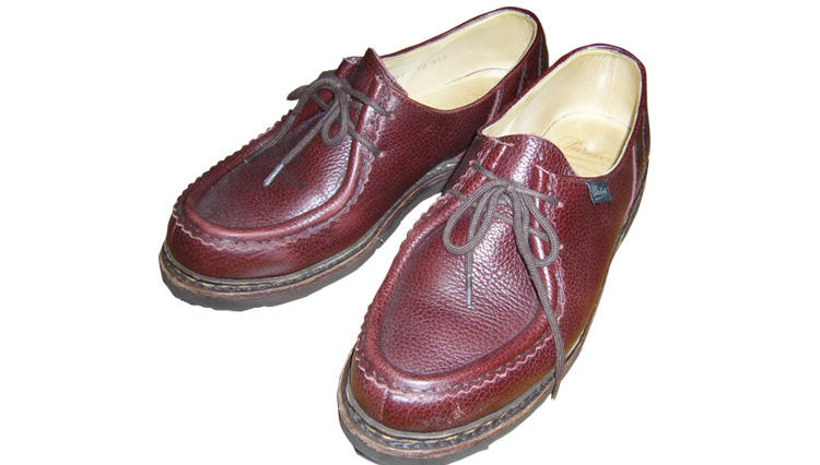 初めて靴のパターンオーダーをしました!【パラブーツ】