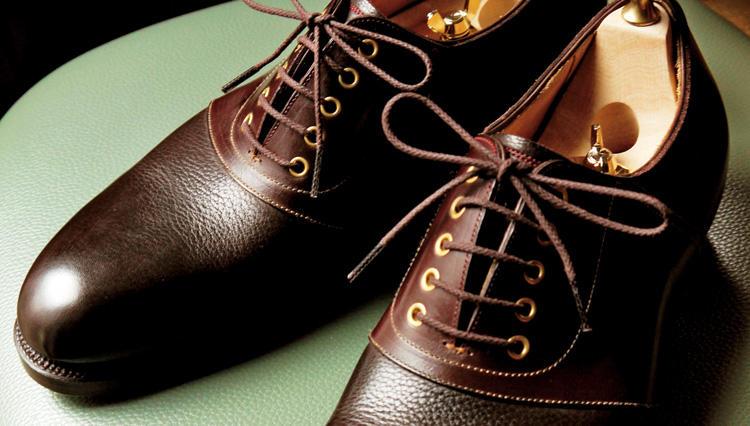 じっくり履き込みたい自分だけのコンビ靴!【クレマチス銀座】