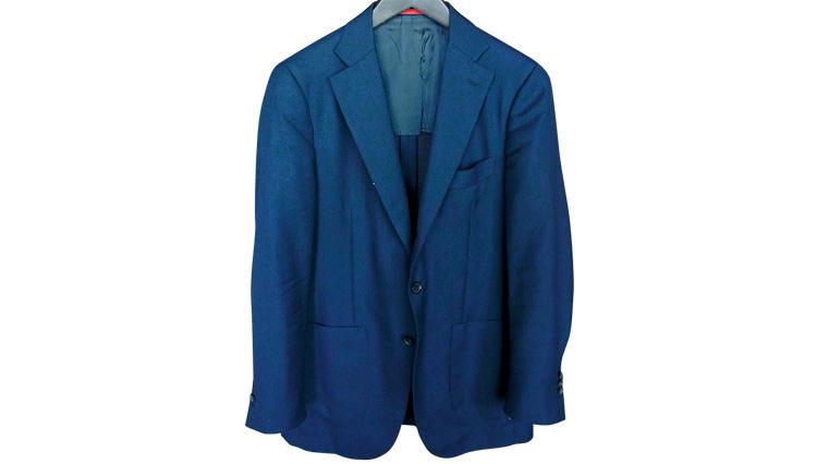 ビジネスで最も着用した最強の紺ジャケット!【イザイア】