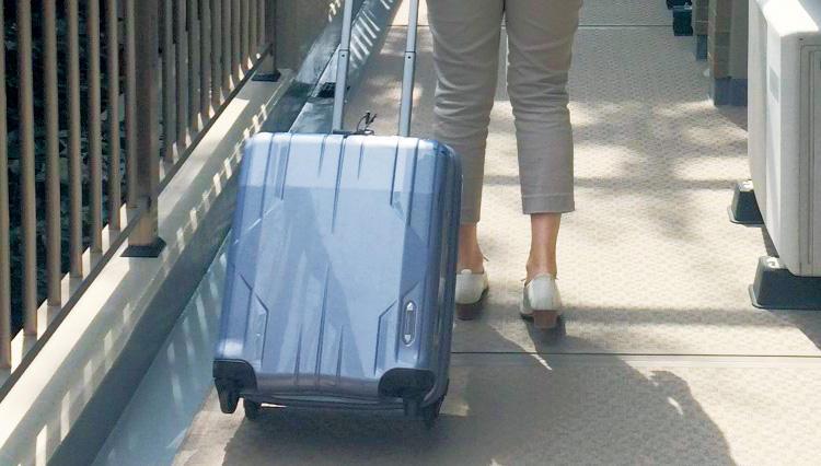 「手荷物」で楽々持ち込めます【エース】