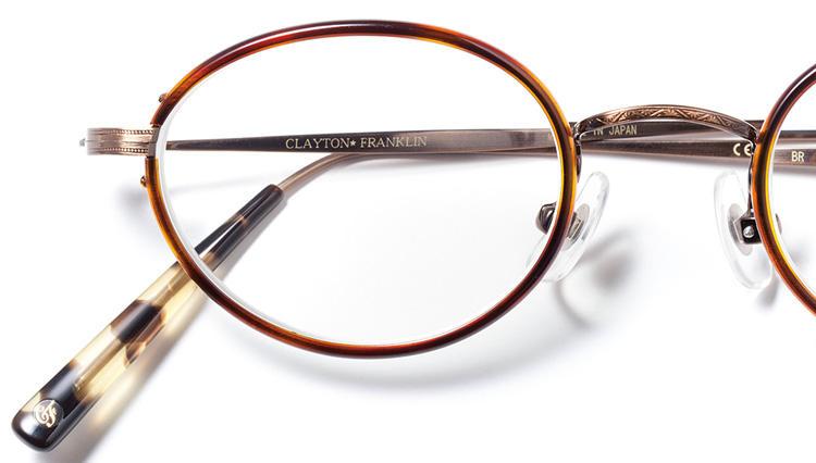 度数が強い人は今こそ丸くて小さいメガネを!【クレイトン フランクリン】