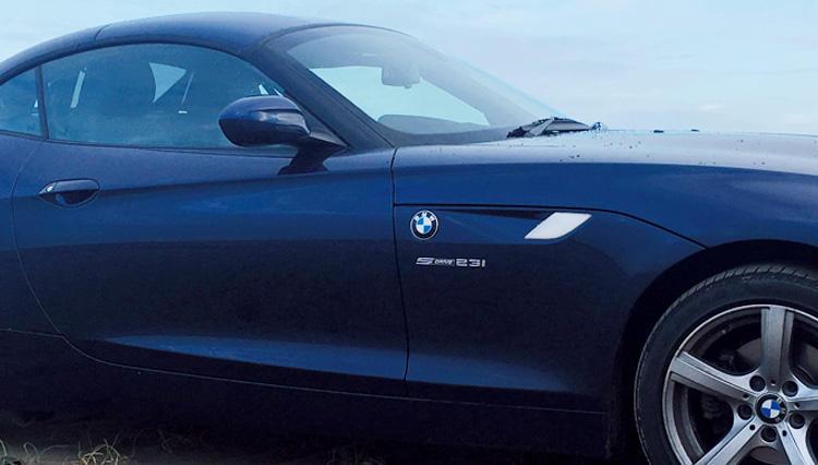 エレガントかつスポーティな究極の相棒【BMWのZ4】
